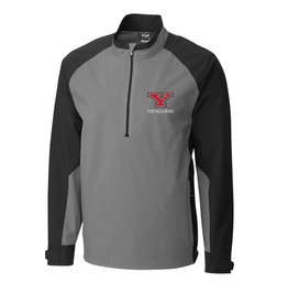 CUTTER & BUCK Youngstown State Penguins Men's CB Weathertec Summit Half-Zip Pullover Jacket