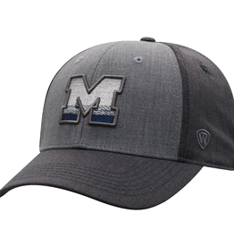 TOP OF THE WORLD Michigan Wolverines Powertip One Fit Cap