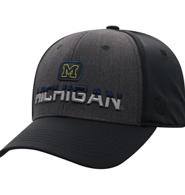 TOP OF THE WORLD Michigan Wolverines Tag One Fit Cap