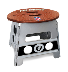 FANMATS Oakland Raiders Step Stool