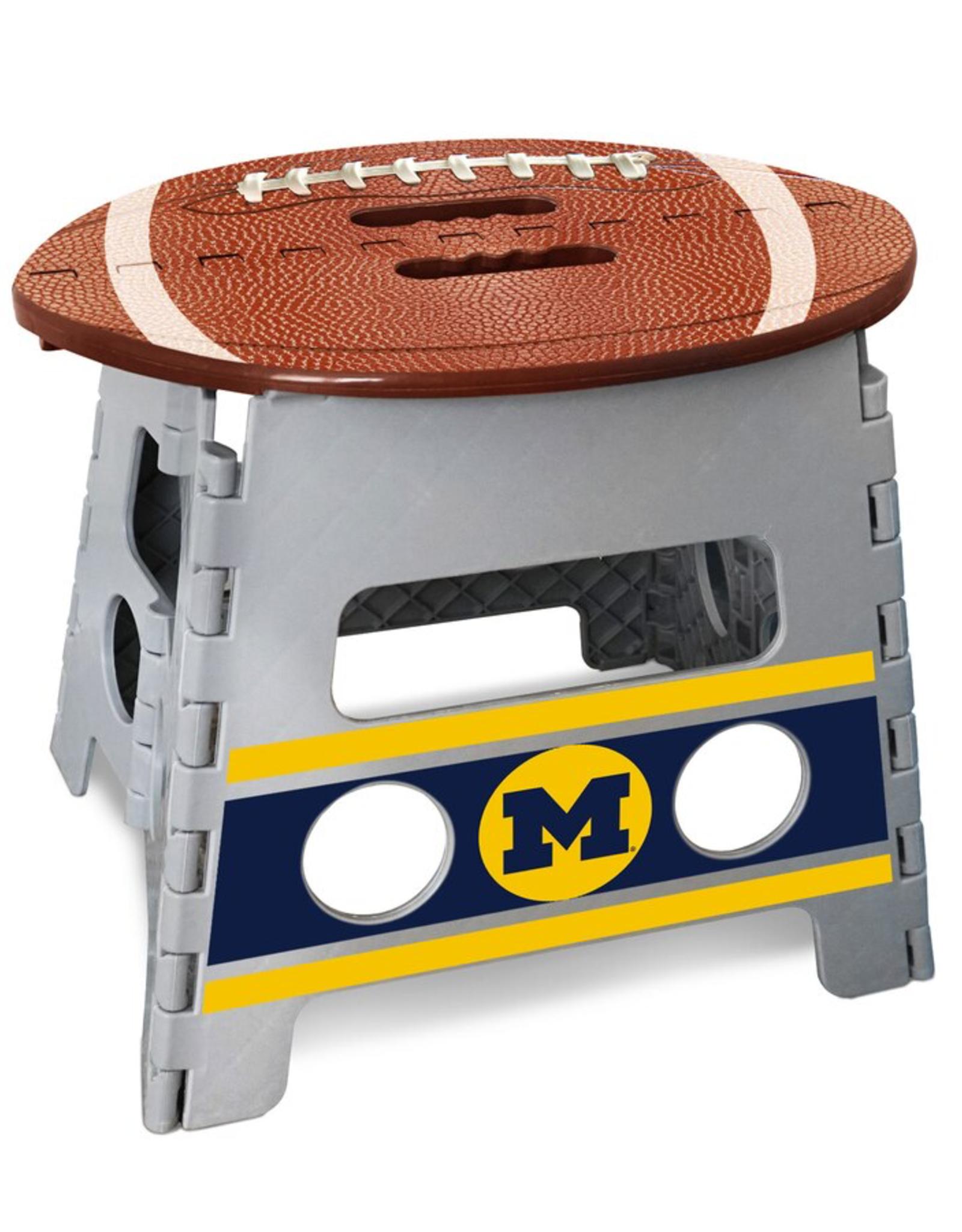 FANMATS Michigan Wolverines Step Stool