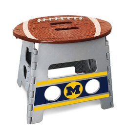 FANMATS Michigan Wolverines Step Stool