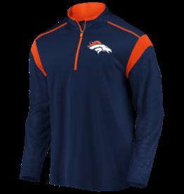 FANATICS Denver Broncos Men's Defender Mission Half-Zip Top