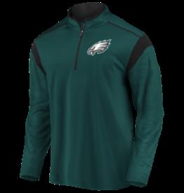 FANATICS Philadelphia Eagles Men's Defender Mission Half-Zip Top