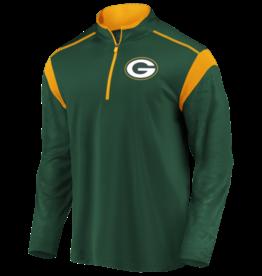 FANATICS Green Bay Packers Men's Defender Mission Half-Zip Top
