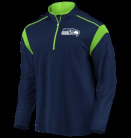 FANATICS Seattle Seahawks Men's Defender Mission Half-Zip Top