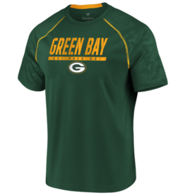FANATICS Green Bay Packers Men's Defender Mission Tee