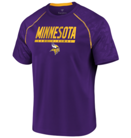 FANATICS Minnesota Vikings Men's Defender Mission Tee