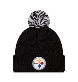 NEW ERA Pittsburgh Steelers New Era Cozy Cable Knit Hat