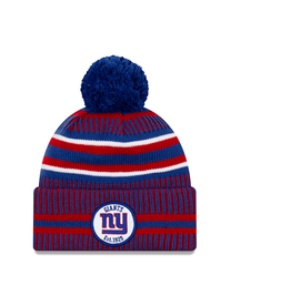 NEW ERA New York Giants New Era NFL 2019 Official Sideline Sport Knit Hat