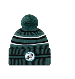 NEW ERA Philadelphia Eagles New Era NFL 2019 Official Sideline Sport Knit Hat