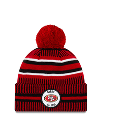NEW ERA San Francisco 49ers New Era NFL 2019 Official Sideline Sport Knit Hat