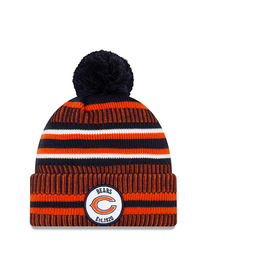 NEW ERA Chicago Bears New Era NFL 2019 Official Sideline Sport Knit Hat