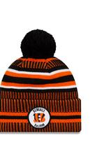 NEW ERA Cincinnati Bengals New Era NFL 2019 Official Sideline Sport Knit Hat