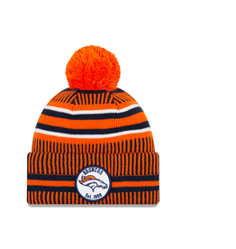NEW ERA Denver Broncos New Era NFL 2019 Official Sideline Sport Knit Hat