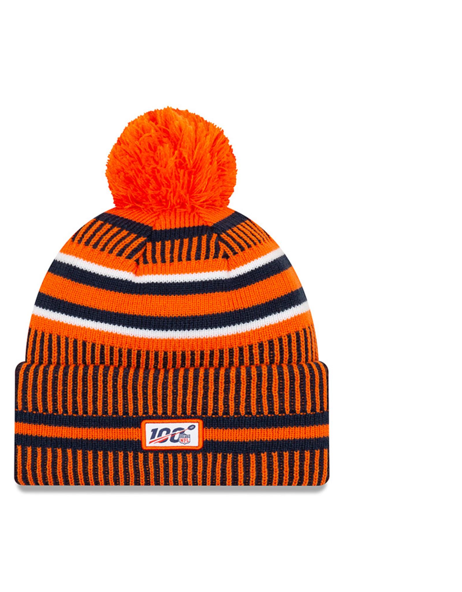 NEW ERA Denver Broncos New Era NFL 2019 Official Sideline Sport Knit Hat