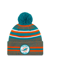 NEW ERA Miami Dolphins New Era NFL 2019 Official Sideline Sport Knit Hat