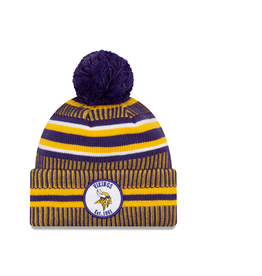 NEW ERA Minnesota Vikings New Era NFL 2019 Official Sideline Sport Knit Hat