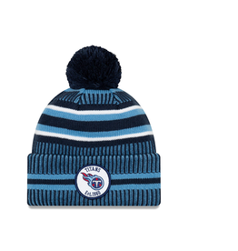 NEW ERA Tennessee Titans New Era NFL 2019 Official Sideline Sport Knit Hat