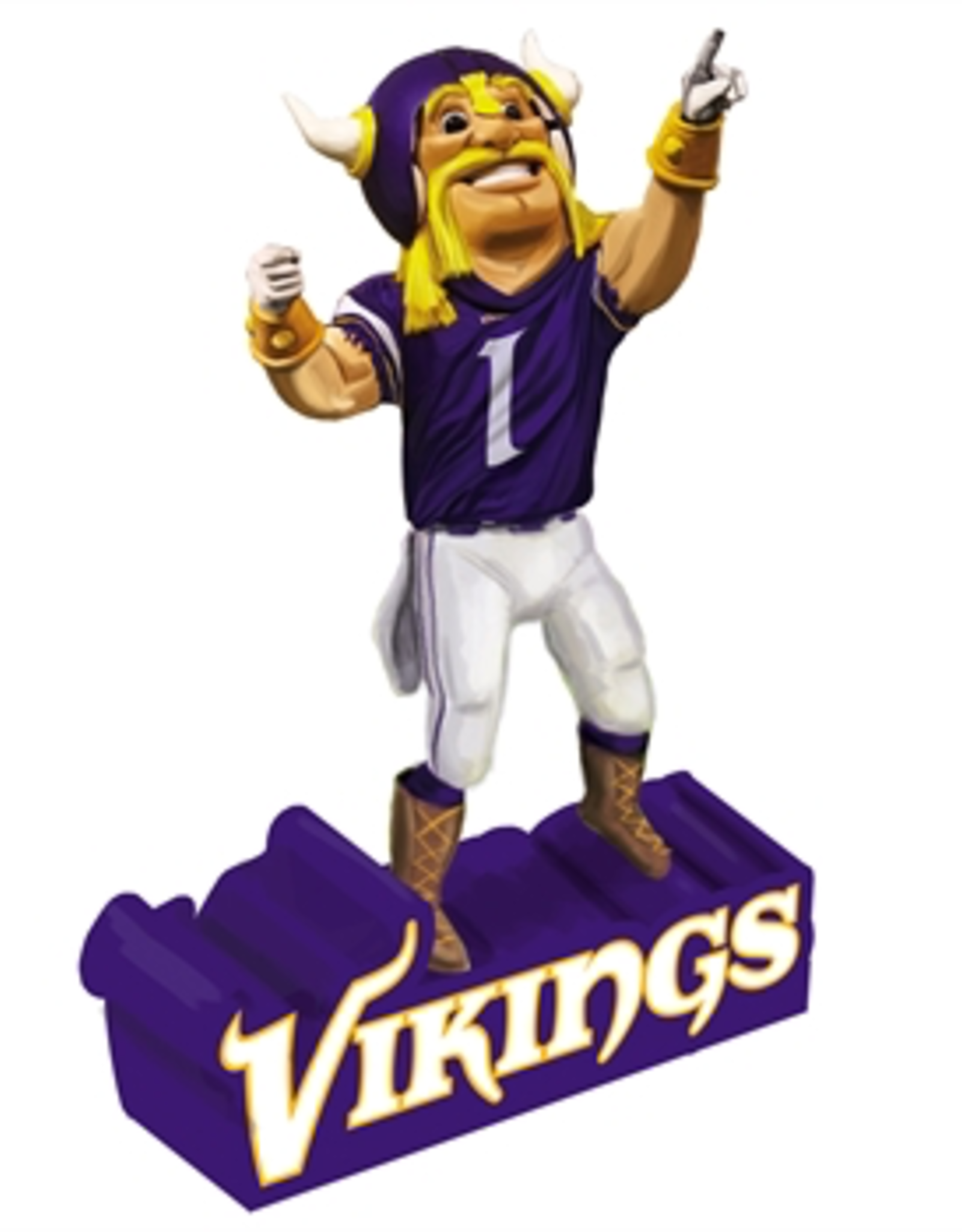 EVERGREEN Minnesota Vikings Mascot Statue
