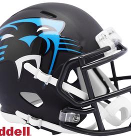RIDDELL Carolina Panthers Riddell AMP Alternate Mini Speed Helmet