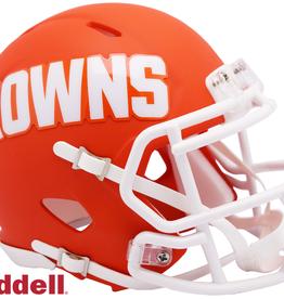 RIDDELL Cleveland Browns Riddell AMP Alternate Mini Speed Helmet