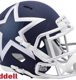 RIDDELL Dallas Cowboys Riddell AMP Alternate Mini Speed Helmet