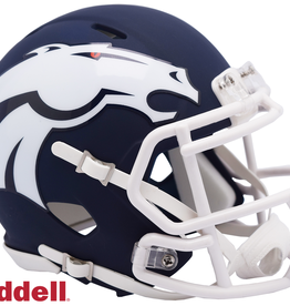 RIDDELL Denver Broncos Riddell AMP Alternate Mini Speed Helmet