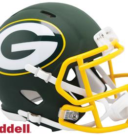 RIDDELL Green Bay Packers Riddell AMP Alternate Mini Speed Helmet