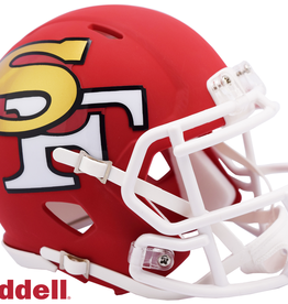 RIDDELL San Francisco 49ers Riddell AMP Alternate Mini Speed Helmet