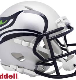 RIDDELL Seattle Seahawks Riddell AMP Alternate Mini Speed Helmet