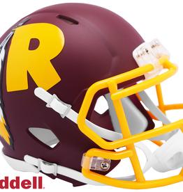 RIDDELL Washington Redskins Riddell AMP Alternate Mini Speed Helmet