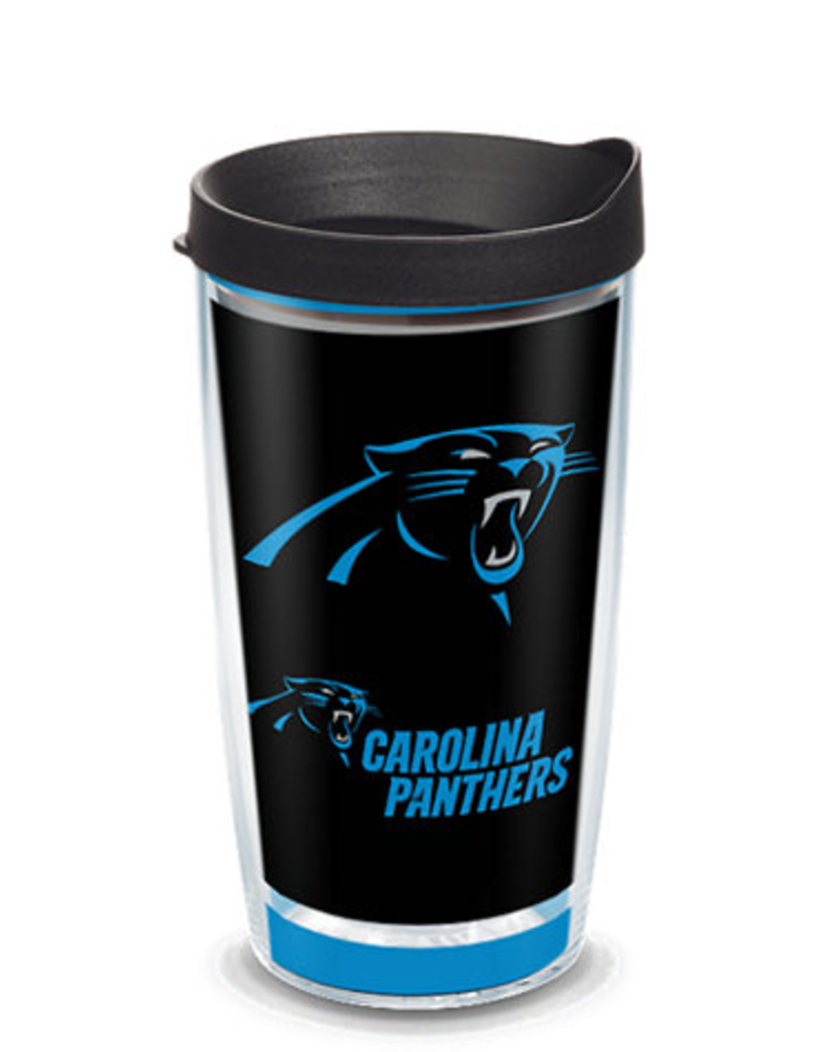 TERVIS Carolina Panthers 16oz Tervis Touchdown Wrap Tumbler