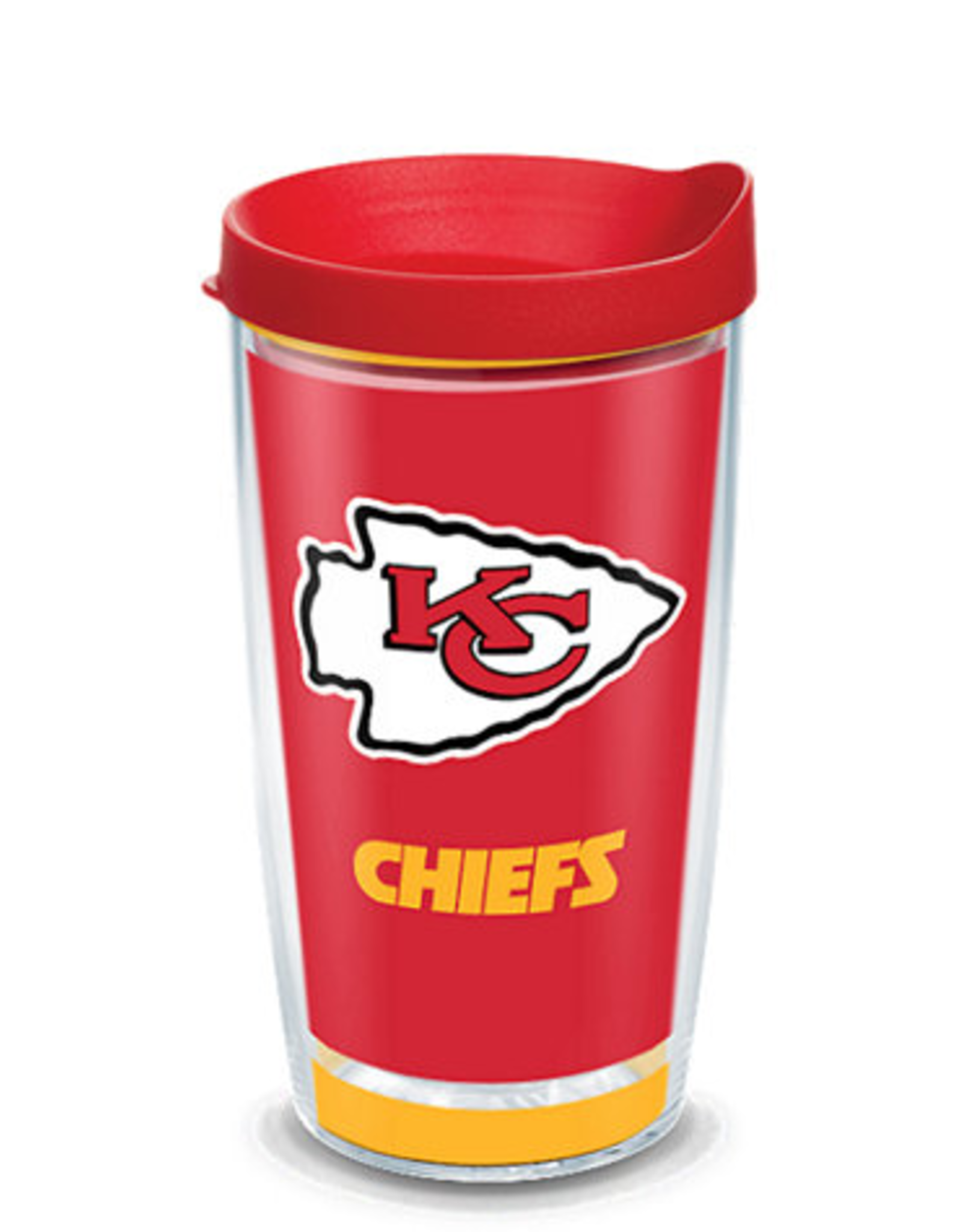 TERVIS Kansas City Chiefs 16oz Tervis Touchdown Wrap Tumbler