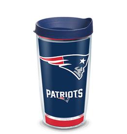 TERVIS New England Patriots 16oz Tervis Touchdown Wrap Tumbler