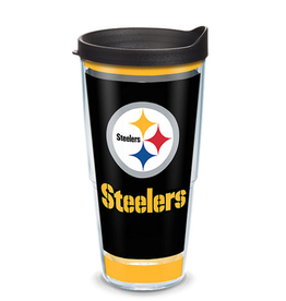 TERVIS Pittsburgh Steelers 24oz Tervis Touchdown Wrap Tumbler