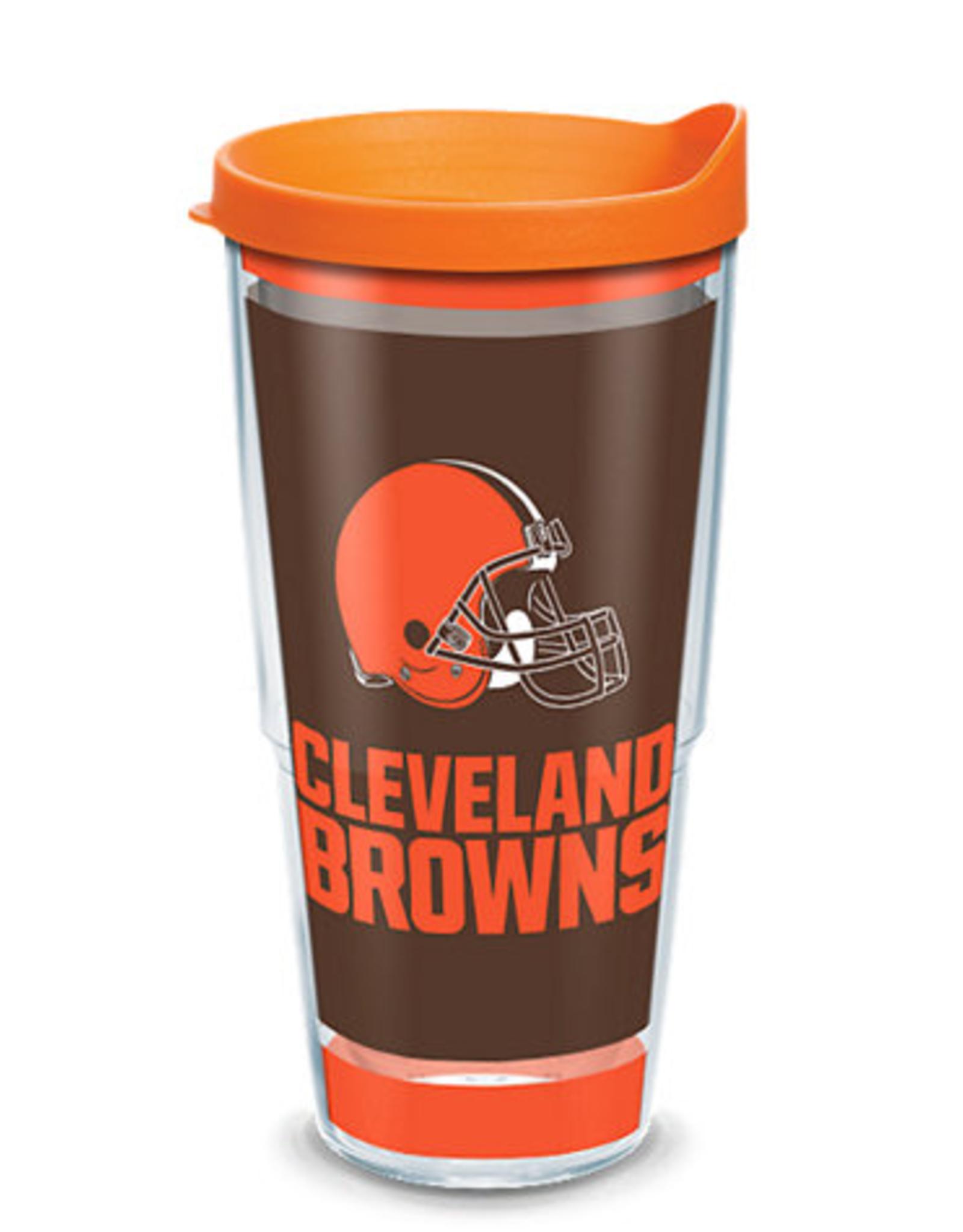 TERVIS Cleveland Browns 24oz Tervis Touchdown Wrap Tumbler