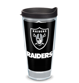 TERVIS Oakland Raiders 24oz Tervis Touchdown Wrap Tumbler