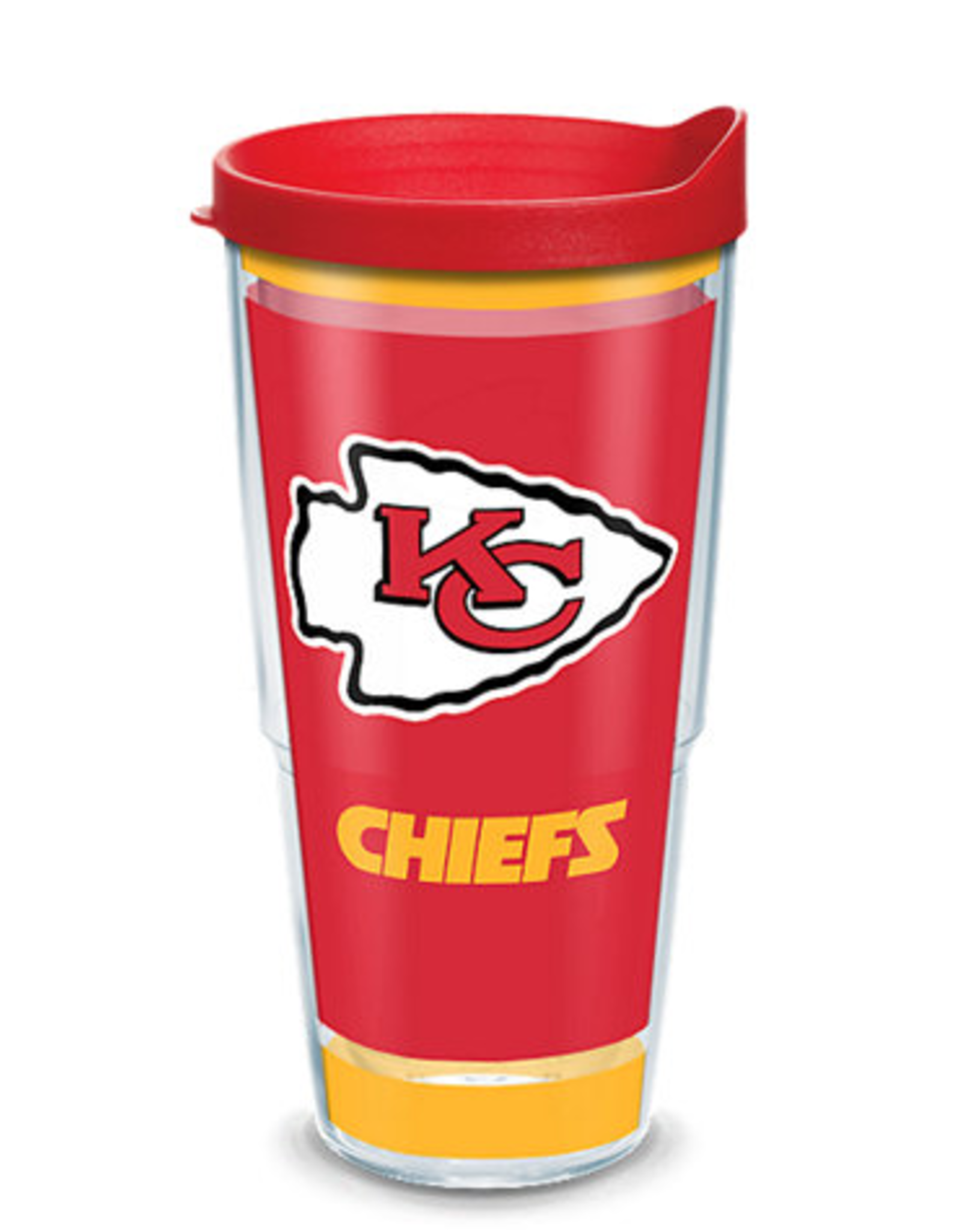 TERVIS Kansas City Chiefs 24oz Tervis Touchdown Wrap Tumbler