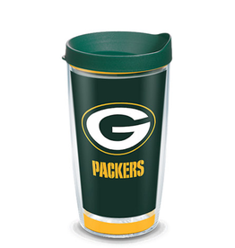TERVIS Green Bay Packers 16oz Tervis Touchdown Wrap Tumbler