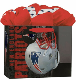 JF TURNER & CO New England Patriots Medium GoGo Gift Bag