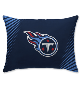 HOVER HELMETS Tennessee Titans Side Streak Microplush Pillow Protector
