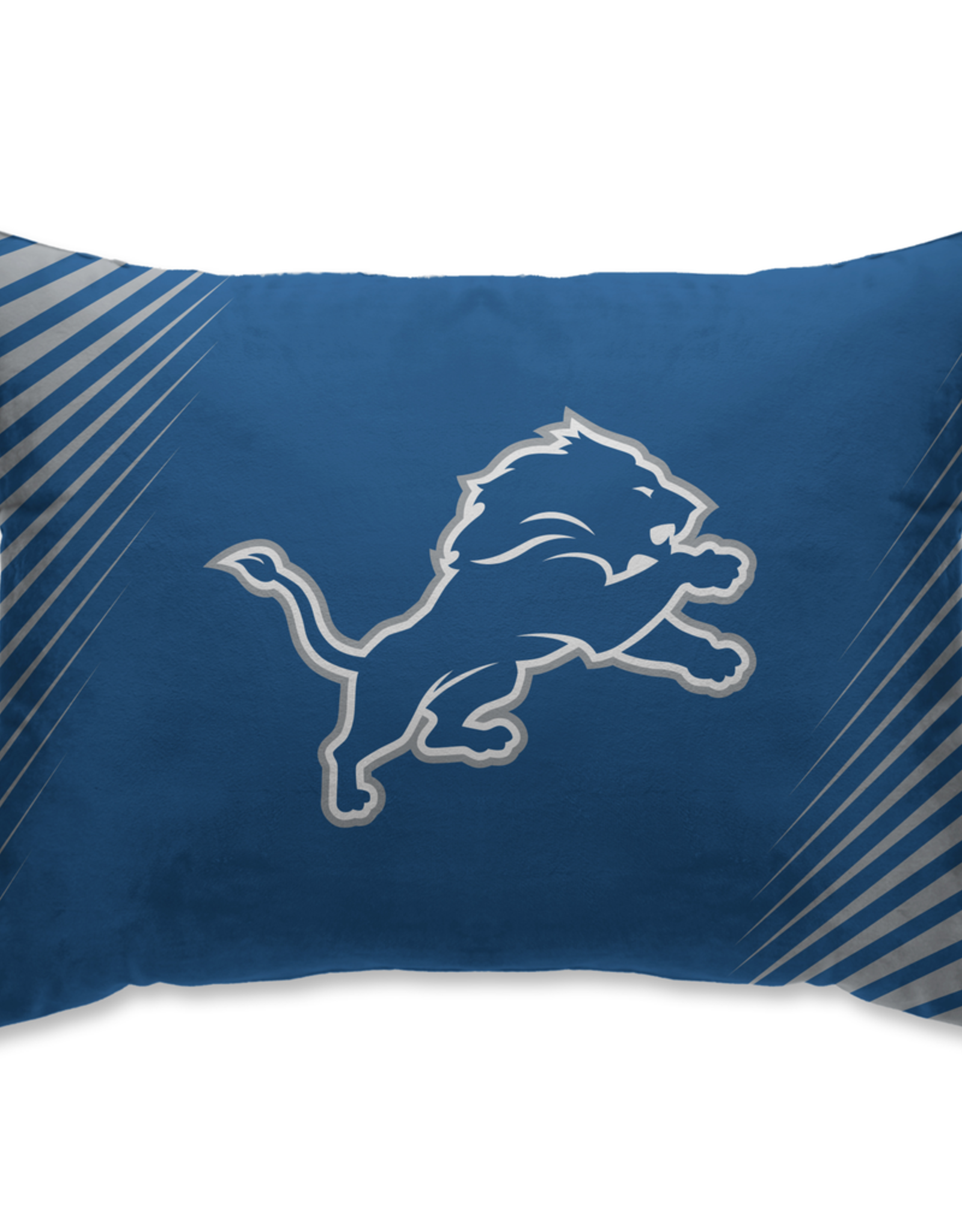 HOVER HELMETS Detriot Lions Side Streak Microplush Pillow Protector