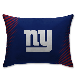 HOVER HELMETS New York Giants Side Streak Microplush Pillow Protector