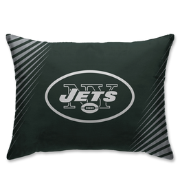 HOVER HELMETS New York Jets Side Streak Microplush Pillow Protector