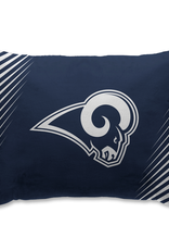 HOVER HELMETS Los Angeles Rams Side Streak Microplush Pillow Protector