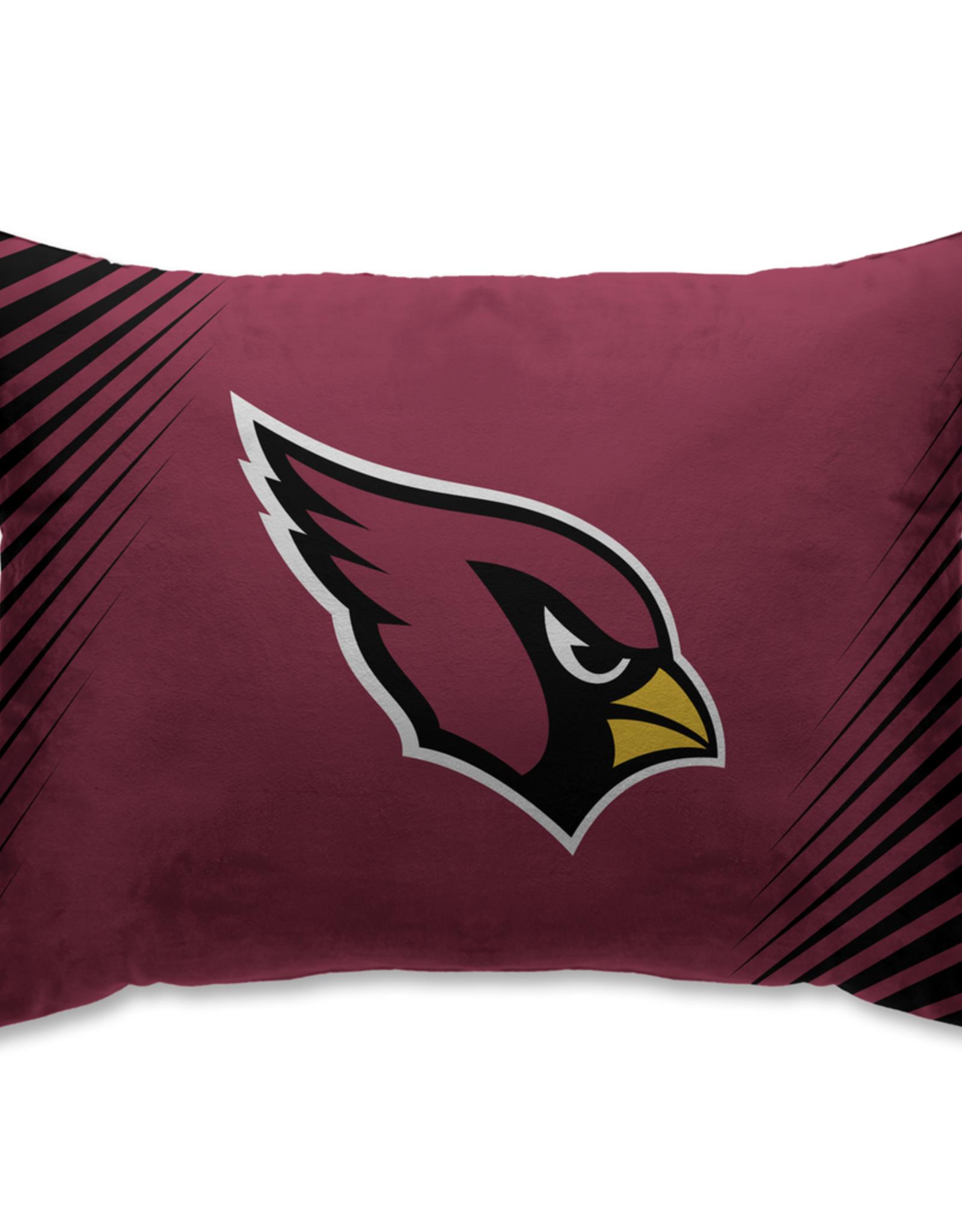 HOVER HELMETS Arizona Cardinals Side Streak Microplush Pillow Protector