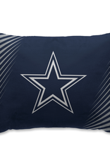 HOVER HELMETS Dallas Cowboys Side Streak Microplush Pillow Protector