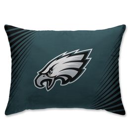HOVER HELMETS Philadelphia Eagles Side Streak Microplush Pillow Protector