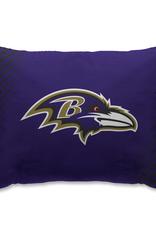 HOVER HELMETS Baltimore Ravens Side Streak Microplush Pillow Protector